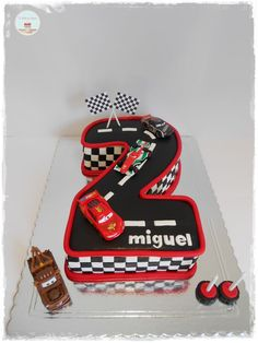 Disney Cars cake - Google Search