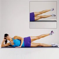 Try this Butt Toning Workout— Side Leg Lifts