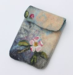 Felting, handmade, felted scarf, felted case, felted fish, tutorials