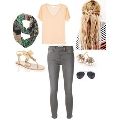 Cutie Polyvore featuring Frame Denim, Kate Spade, Ippolita, NLY Accessories and Perfection Beauty