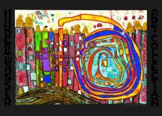 Who Has Eaten All My Windows Posters af Friedensreich Hundertwasser på AllPosters.dk