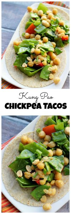 Lower Excess Fat Rooster Recipes That Basically Prime Takeout At Home Takes On A Whole New Meaning With These Asian Fusion Kung Pao Chickpea Tacos Raw Food Recipes, Vegetarian Recipes, Dinner Recipes, Cooking Recipes, Healthy Recipes, Lunch Recipes, Vegan Main Dishes, Veggie Dishes, Fresco