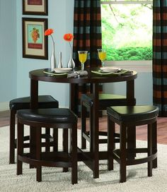 Dining Room Sets with Glass and Marble Top Table, Counter Height Dining Room Sets for 2 - 9 person with Bench and Storage Options at eFurniture Mart    #diningroomset #diningset #diningtable #diningroom #diningfurniture #DiningRoomIdeas #HomeDecor #InteriorDesigner #HomeDecorating #interiordesign #furniture #efurnituremart #HomeDecorator #decor #roomdecorating - eFurnitureMart, eFurniture Mart
