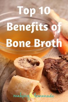 Top 10 bone broth benefits - including cellulite & wrinkle fighting! MakingLemonade.ca