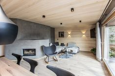 Penthouseappartement Schwendt - Trixl Einrichtung Indoor Outdoor, Conference Room, Table, Furniture, Home Decor, Homes, Homemade Home Decor, Meeting Rooms, Tables