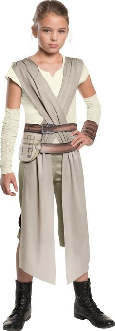 star wars the force awakens classic rey costume for girls