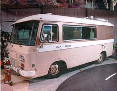 1964 Clark Cortez motorhome, one of America's first front wheel drive motor homes, built by Clark Equipment Company