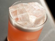 baby turtle - blend of Tequila Ocho reposado, Campari, grapefruit, lime, egg white, and freshly grated cinnamon, is frothy-sweet at first sip, mellowing to an almost savory fullness.