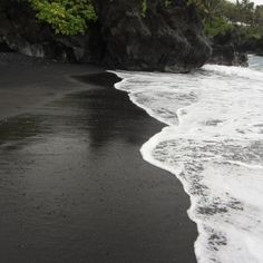 Black Sand Beach - Maui Yes it is this amazing, but it has been 10 years...time to go back