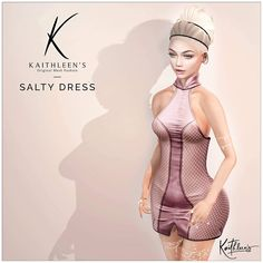 https://flic.kr/p/U2kmgX | Kaithleen's Salty Dress for Tres Chic | Kaithleen's Salty Dress for Tres Chic  - 100% original mesh - Maitreya Lara, Belleza Freya-Isis and Venus, Slink body  Take taxi and check this out :  maps.secondlife.com/secondlife/Nika/128/121/2001