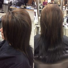 Golden highlight and paint between before and after