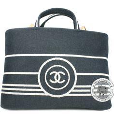 2e8d718d35 Chanel Denim Blue CC Canvas A92240 Y25876 Tote Bag. Hermes BirkinLeather ...