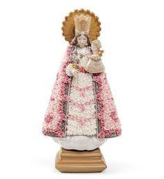 01007204  FLOWER OFFERING IN VALENCIA   Issue Year: 2009  Sculptor: Virginia González  Size: 26x15 cm       Limited Edition 3000 pieces