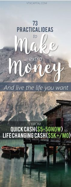 Want to make extra money from home? This list contains our BEST ways to make money. Online, in person, everything. If you want to start earning extra money, you NEED this list :)