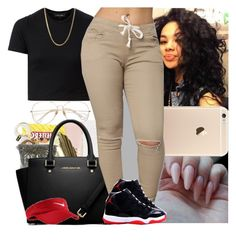 """""""Back2school #50"""" by msixo ❤ liked on Polyvore featuring NIKE"""