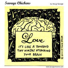 """Savage Chickens"" by Doug Savage ~ LOVE"