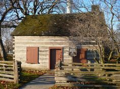 Toronto's oldest house, Scadding Cabin was built by the Queen's Rangers in 1794 for John Scadding, clerk to Lieutenant-Governor John Graves Simcoe. The one-room cabin is constructed of squared, white pine logs with dovetailed cornersScadding Cabin is furnished as a typical settler's first house, with artifacts dating from the 1790s to the 1850s. The cabin's first owner was John Scadding, an assistant to Upper Canada's first Lieutenant Governor, John Graves Simcoe.