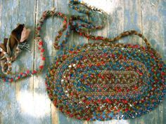 5 different techniques for rag rugs: braided, crocheted, loom, hand woven, knotted