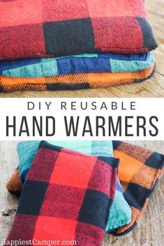 These work great to keep my hands warm even on the coldest mornings. Plus these hand warmers were an easy sewing project that even a beginner can sew. Easy Sew DIY Reusable Hand Warmers as gifts for for yourself. Sewing Basics, Sewing Hacks, Sewing Tutorials, Sewing Crafts, Sewing Tips, Fabric Crafts, Sewing Ideas, Free Sewing, Diy Projects For Kids