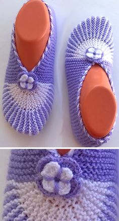 Amazing Knitting provides a directory of free knitting patterns, tips, and tricks for knitters. Crochet Socks, Knit Or Crochet, Knitting Socks, Free Knitting, Knitted Booties, Knitted Slippers, Knitting Paterns, Knitting Projects, Crochet Basket Pattern