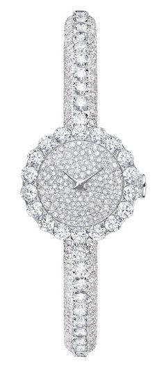 "Gorgeous. . .   Dior ""Haute Joaillerie"" Mini D diamond watch. ♥✤   Keep the Glamour   BeStayBeautiful"