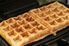 Simple, awesome waffle recipe - only 45 calories each. Add 2 Tbsp PB2 powdered peanut butter for +8 calories per waffle.