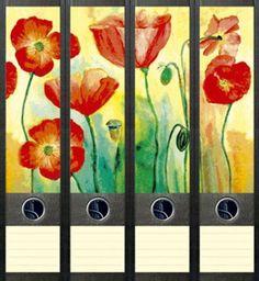 File Art AJ044 Design Etiketten Ordnerrückenschilder
