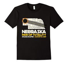 Path Of Totality Eclipse T-Shirt Nebraska Eclipse