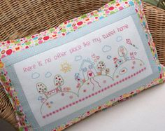 Free Campin' Applique Cushion Pattern by braidcraft on Etsy