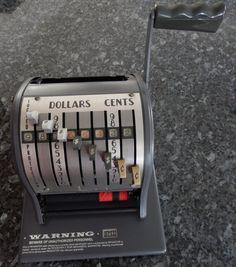 Check printing machine PAYMASTER Office by VintageTreasuresRus
