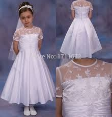 Resultado de imagen para vestidos de comunion sencillos y baratos