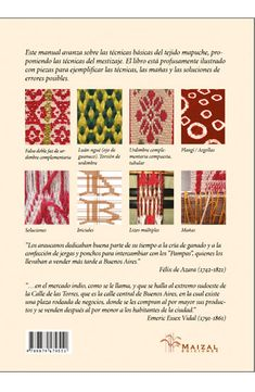 Manual de telar mapuche. El mestizaje Textiles, Periodic Table, Weaving, Diagram, Fashion Portfolio, Tapestry Weaving, Knitting Designs, Journals, Event Posters