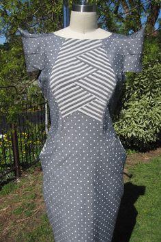 Elizabeth Holt - Spots and Stripes Entry - Tessuti Awards 2012