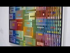 Dynamo Paris: Double métamorphose III, 1968-69 par Yaacov Agam (from the Centre Pompidou) - YouTube