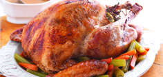 Sandra Lee Herb Butter-Roasted Turkey- Herb Butter-Roasted Turkey