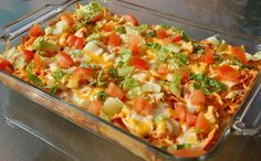 mexican chicken casserole with 6 smart points - Weight Watchers