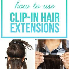 Here's Exactly How To Use Clip-In Hair Extensions