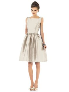 Alfred Sung Style D518 http://www.dessy.com/dresses/bridesmaid/d518/?color=champagne&colorid=950#.UvLw1BZCjY0