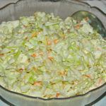 KFC Coleslaw is a five minute side dish you'll enjoy all summer long with your favorite chicken and more! KFC Coleslaw is one of my most personal childhood food memories. Ground Beef Recipes For Dinner, Dinner Recipes, Kfc Coleslaw, Coleslaw Recipes, A Food, Food And Drink, Cabbage Salad Recipes, Vegetarian Recipes, Cooking Recipes