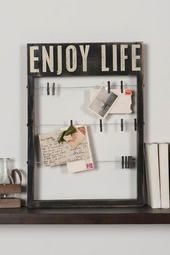 Enjoy Life Card Holder  ... for all my euro adventures