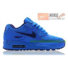 best loved 1c41b 9292d Nike Air Max 90 GS Chaussures Nike Pas Cher Pour Femme Deep Blue 307793-408,Nike  Air Max 90,Nike Air Max 90 GS,Nike Air Max 90 Femme,Nike Air Max 90 Pas ...