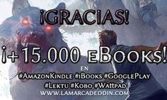Ya son + de 15.000 los ebooks descargados de La marca de Odín: El despertar!