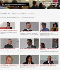 """Special Seite zur Veranstaltung """"Steilvorlagen für den Unternehmenserfolg - Best Practice in der Informationsvermittlung"""" #infopro13 - Audio Mitschnitte der Veranstaltung"""