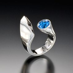 Dolce Ring with Blue Topaz