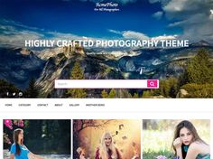 AcmePhoto, this theme is created to cater to photographers, art enthusiasts, and art lovers. This theme requires users to be creative, careful. This theme is supported by features such as. Top Free Wordpress Themes, Wordpress Template, Premium Wordpress Themes, Photography Themes, Creative Photography, Gallery Website, Grid Layouts, Lovers Art, In The Heights
