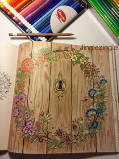 Inspirational Coloring Pages | inspiração by @jinglezingle #coloringbooks #livrosdecolorir #jardimsecreto #secretgarden #florestaencantada #enchantedforest #reinoanimal #animalkingdom #adultcoloring #johannabasford #milliemarotta