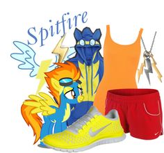 The Wonderbolts: Spitfire (My Little Pony: Friendship is Magic) Inspired Outfit