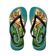 ☆ Mermaid Flip Flops ☆