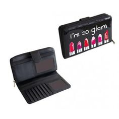 Portefeuille noir I'm so Glam   #cadeau #cadeaux #gift  #gifts #ideecadeau #petitsprix #pascher #anniversaire #fete #party #budget #noel
