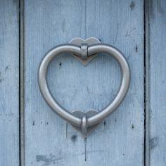 Heart Door Knocker made by Jim Lawrence